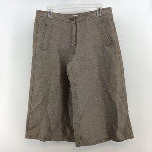 Isaac Mizrahi For Target Womens Wide Leg Capri Pan